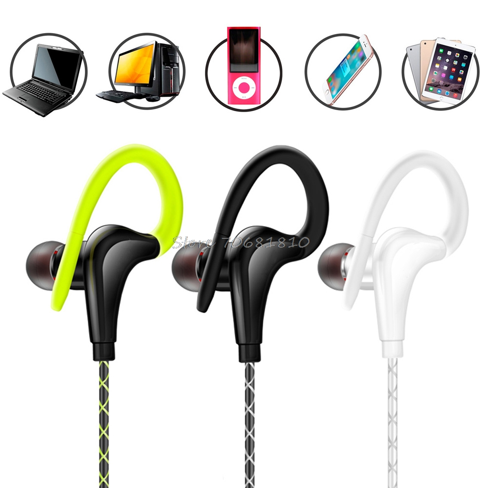 Waterproof Sweatproof IPX5 Earphones Sport Running Headphones Stereo Bass Headset #R179T#Drop Shipping