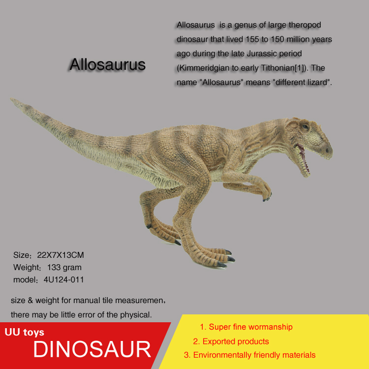Hot toys Walking Allosaurus Jurassic Plastic Dinosaur Toys Model Action Figures Boys Gift toys for children