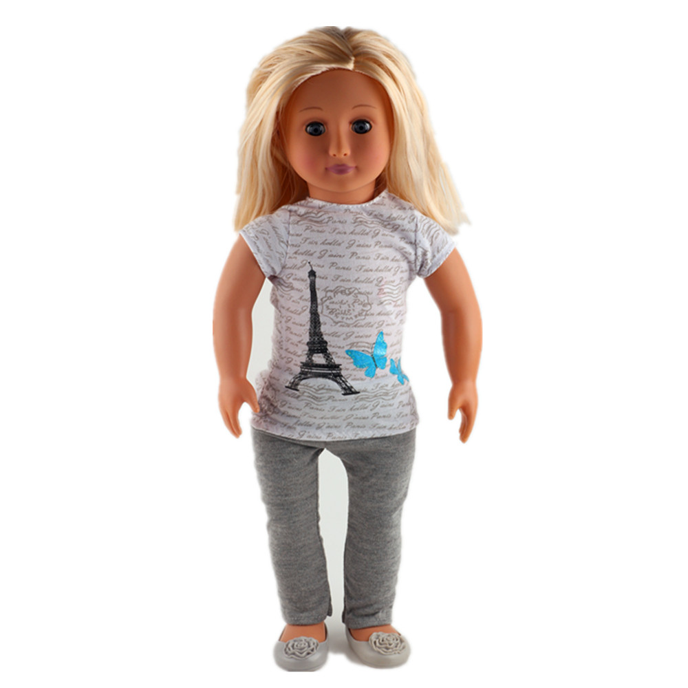 Hot clothes for 18 inch American girl doll clothes, is to give children the best gift! N88