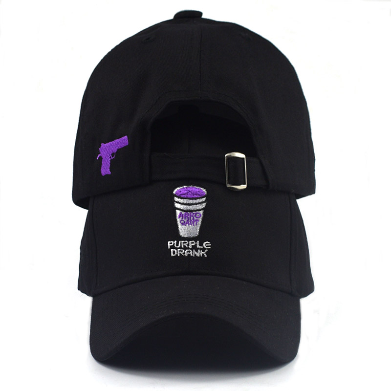 2018 new dad hat Coke Cup Embroidery unisex   baseball     cap   classic casual   cap   golf hat Gun embroidery   cap   hats fashion hat