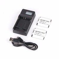 2 CÁI NB-11L NB 11L Pin Li-Ion + LCD Sạc Đối Với Canon IXUS 125 155 150 145 140 132 265HS 240HS A3400 A4000 IXUS 275 HS