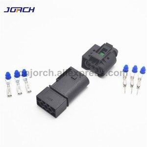 Image 3 - 5 takım 3 pin Enjektör ABS Sensörü elektrik teli Konnektör Dişi Ve Erkek soket 09 4413 11/22140492050 Benz Için BMW Kostal