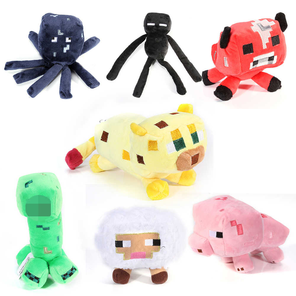 Minecraft plush toy 8pcs/lot Brinquedos Game Toys Cheapest Sale