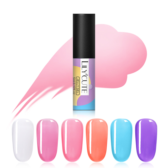 LILYCUTE 5ml Opal Jelly Gel