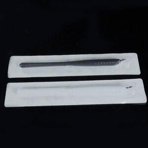 Image 3 - 10 قطعة Dissposable microblading القلم 18U/14pin EO الغاز معقم ثلاثية الأبعاد مايكرو بليد أدوات تجميل دائم آلة الحاجب الوشم