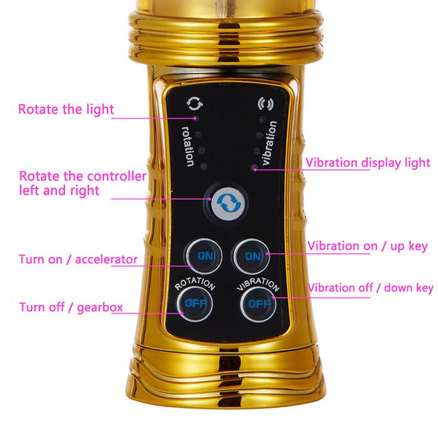 Women's Metallic Design G-Spot Vibrator