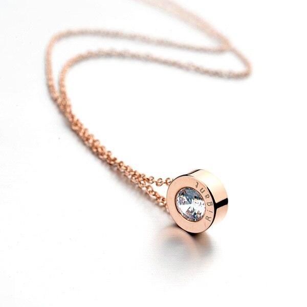 Fashion Women Sexy Collarbone Chain Necklace Italina Rigant Brand Design Korean Exquisite Link Chain Dita August Necklace 860567