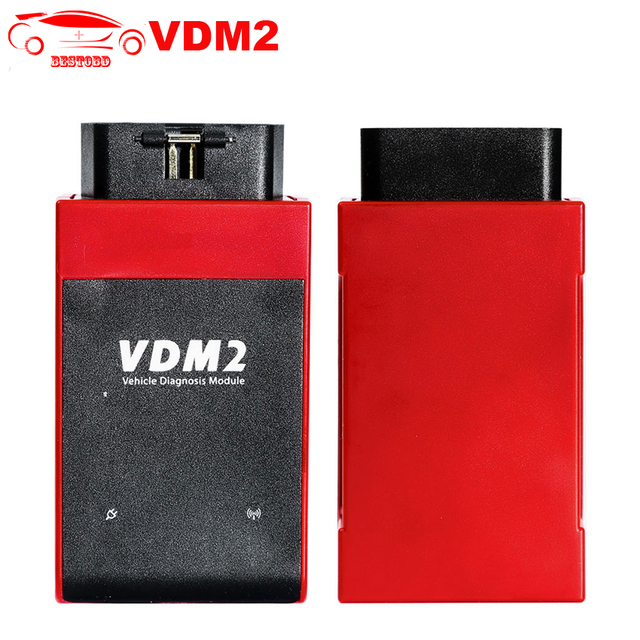 US $115 0 |UCANDAS VDM 2 VDM2 V5 2 Auto OBD2 Diagnostic Tool WIFI Support  for Android Free update online VDMII VDM2 OBDII Code Scanner-in Engine