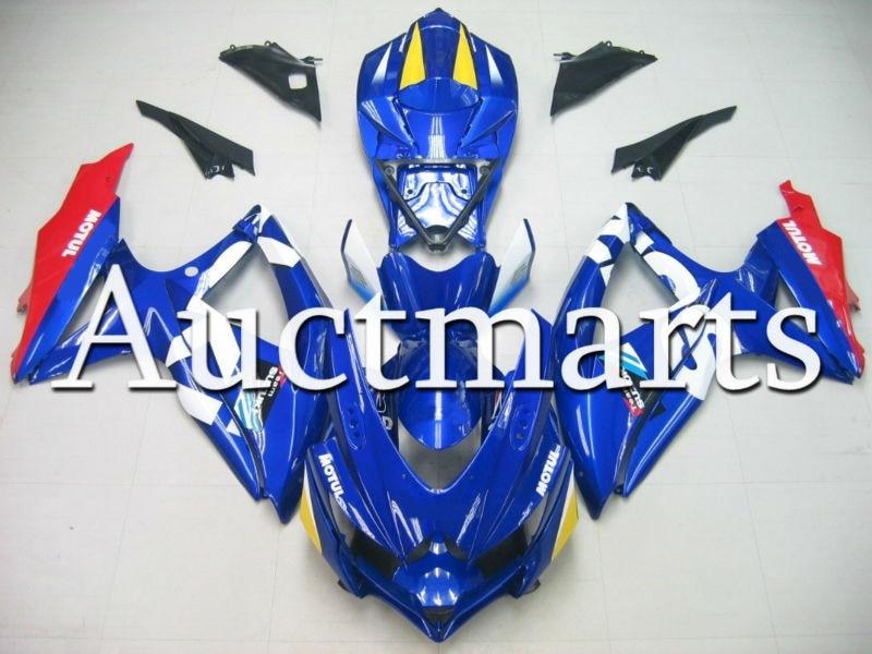 Fit for Suzuki GSX-R 750 2008 2009 2010 K8 ABS Plastic motorcycle Fairing Kit Bodywork GSXR750 08 09 10 GSXR 750 GSX R750 CB59