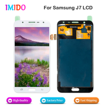 100Pcs/Lot Free DHL EMS For Samsung Galaxy J7 2015 LCD Display Touch Screen Digitizer Assembly J700F J700M J700H LCD AAA+++ for htc titan x310e lcd with touch screen digitizer assembly by free dhl ups or ems 100% warranty 5pcs lot