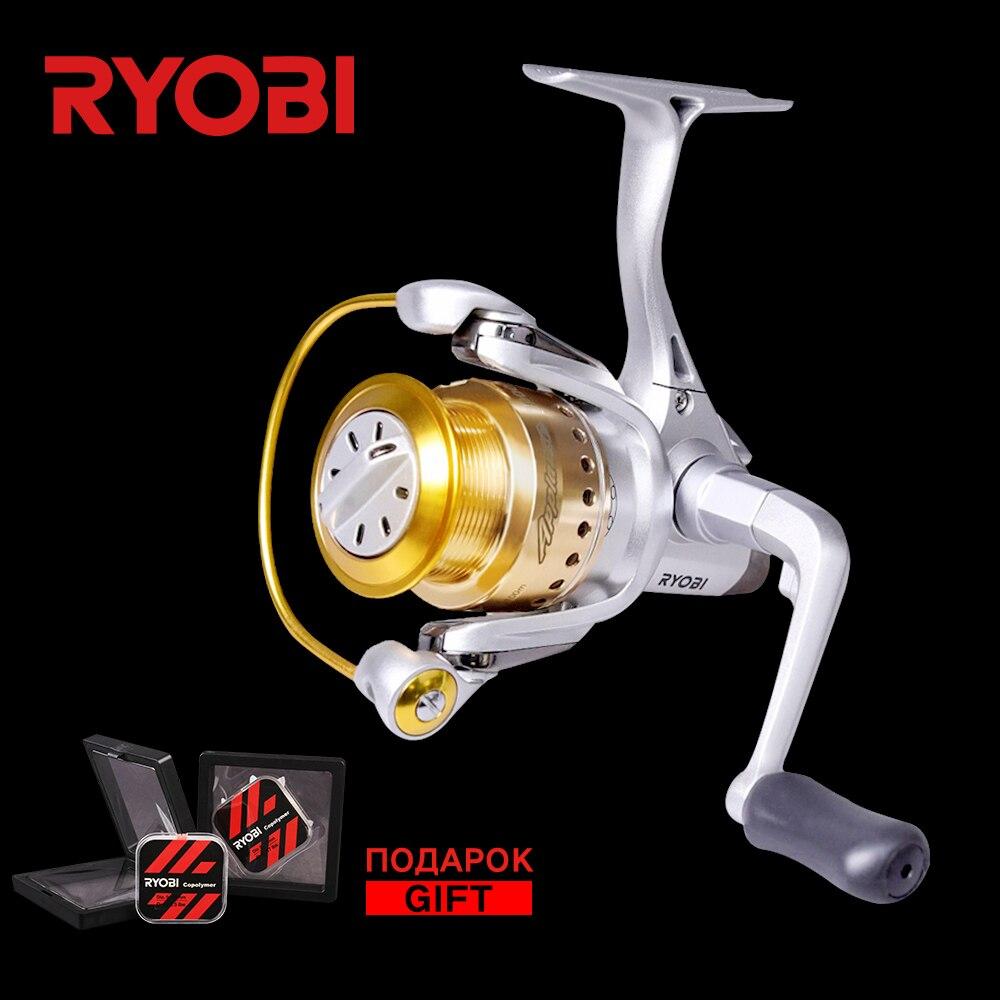 RYOBI applaudissements 1000 2000 6000 6BB + RB classique 10 kg pêche en bateau pêche en eau salée grande bobine corps en métal toupie