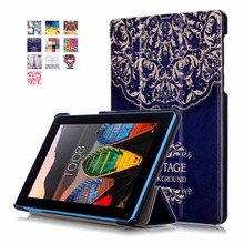 Tablet Case For fundas Lenovo Tab 3 7.0 710F 701I Essential Case Tablet Magnet Cover For Lenovo Tab3 Essential TB3-710F TB3-710I