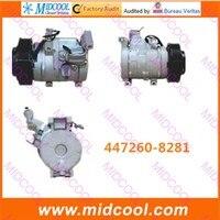 Hoge Kwaliteit Auto Ac Compressor 10S15C Voor 447260-8281 4472608281