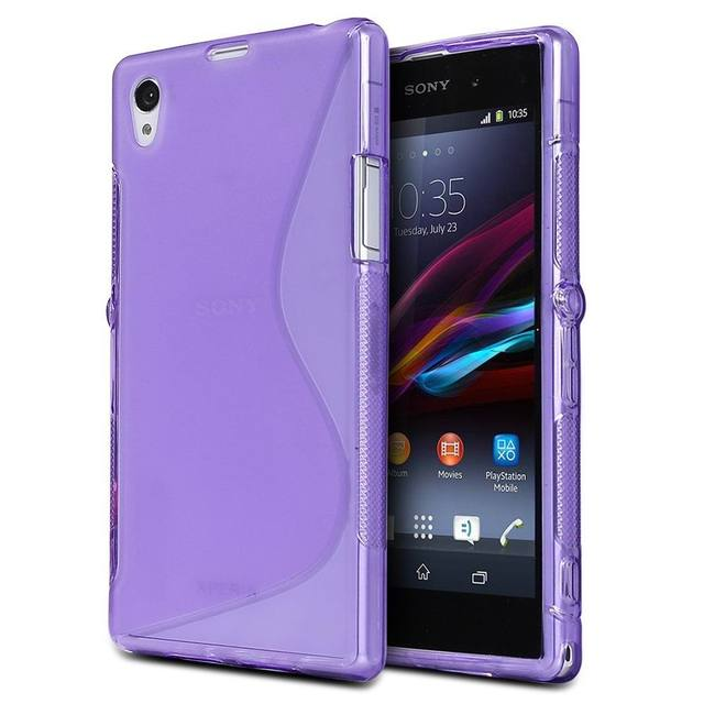 Silicone Case for Sony Xperia Z1 Z3 Z5 Cover Matte TPU Soft Protective Case on Sony Xperia Z3 Z5 Compact Phone Shell Skin