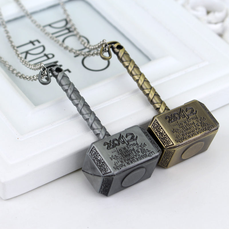 movie jewelry thor hammer necklace thor the dark world hammer