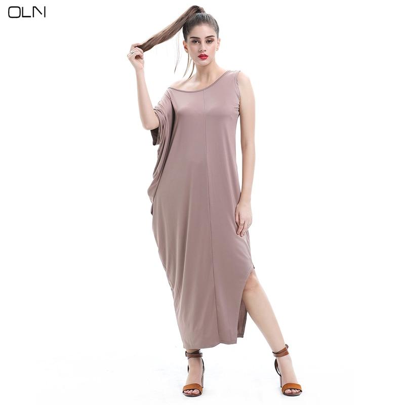 Styledress New Fashion Irregularly High Quality Milk Silk Plus Size