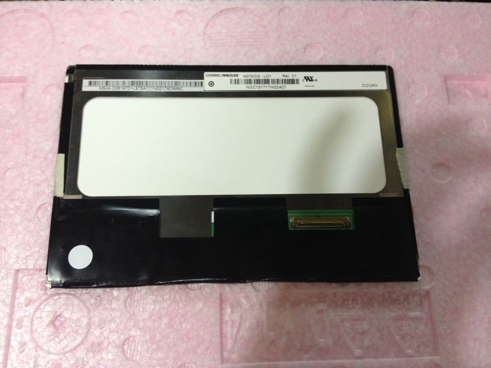 N070ICG-LD1 CMO original 7 inch IPS screen 1280*800 red diamond special offer
