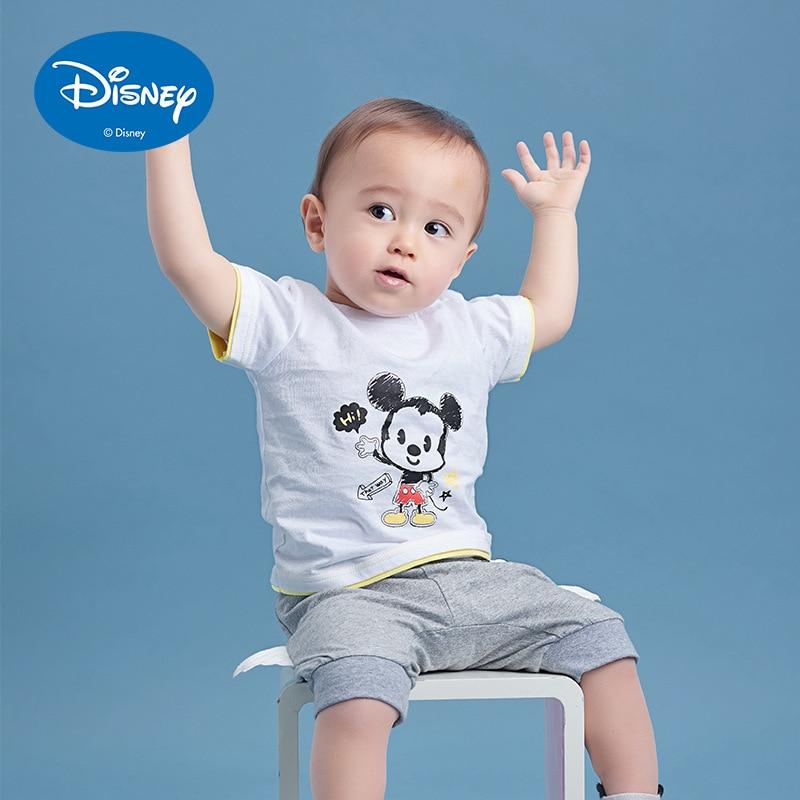 8c0413cabc4c Disney Baby Boy Tops Children T Shirts Fille 2018 Brand Kids Summer ...