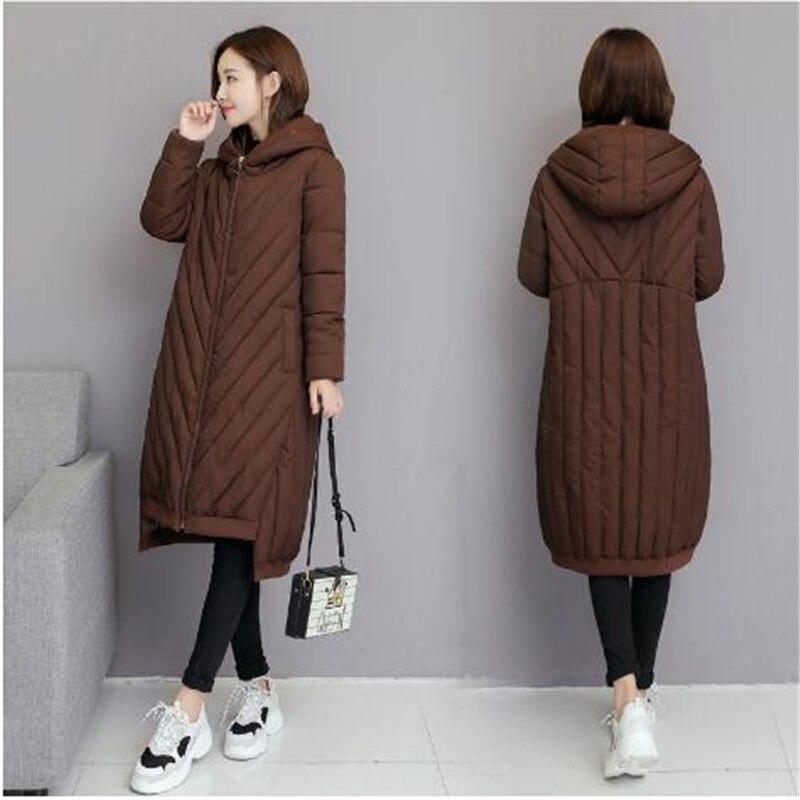 2018 Chapeau 3 2 Avec Lâche Robes Taille Épaississent D'hiver Manteau Manteaux Chauds Femmes Nouvelle Plus La 1 Vente Usine Chaud Arrivée rxvrzwHR