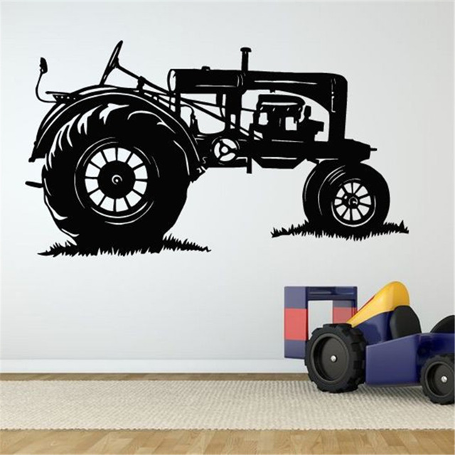 free shipping art decor truck wall sticker vehicle decal classic