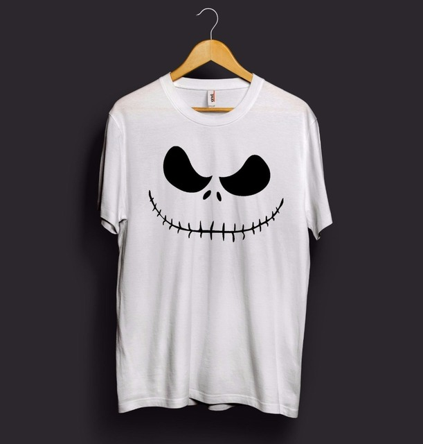 Halloween Jack Skellington Scary.Us 5 09 15 Off Jack Skellington T Shirt Face Head Pumpkin Halloween Scary Monster Kids Costume T Shirt More Size And Colors A949 In T Shirts From