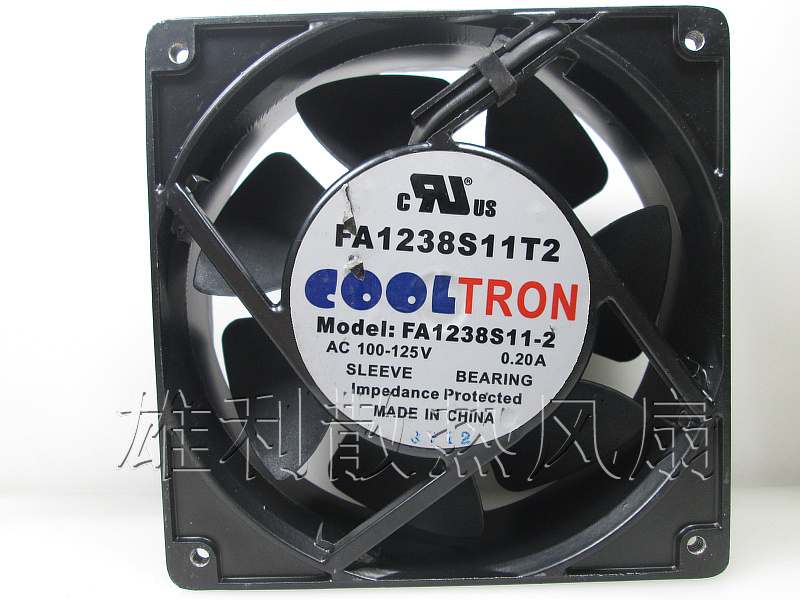 Original Delta COOLTRON FA1238S11T2 110V-125V 0.20A 12cm 120*120*38MM cooling fan original delta ffb1224she 12cm 120mm 12038 120 120 38mm 24v 1 20a cooling fan