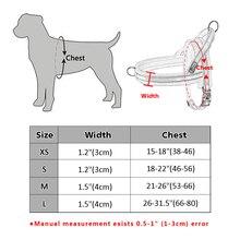 Reflective Nylon Flannel Padded Pet Large Dog Harness