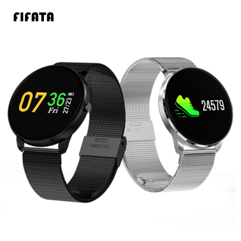 FIFATA CF007H IPS LED color Screen Smart Bracelet Heart Rate Blood Pressure Smartband Watch Wristband Fitness Tracker