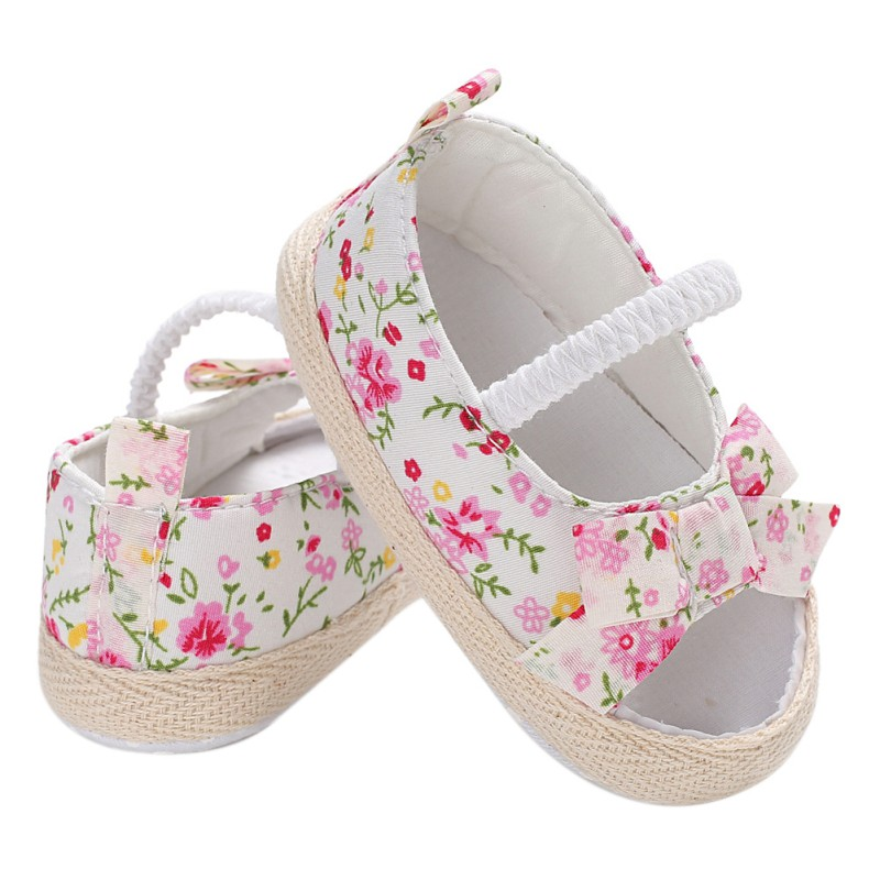 Cute Baby Girl Shoes Bowknot Newborn Infant Outdoor ...