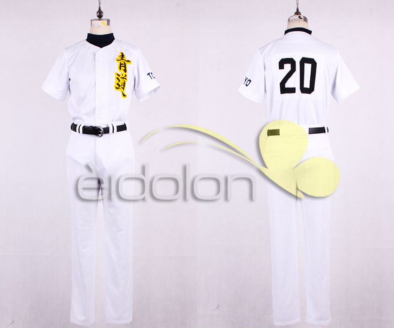 Diamond No Ace Outfit: Ace Of Diamond Daiya No Ace Sawamura Eijun Baseball Suit