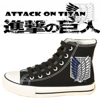 2016 New Hot Style Cloth Shoes Cos Training Giant Canvas Shoes Anime Hand Painted Canvas Shoes