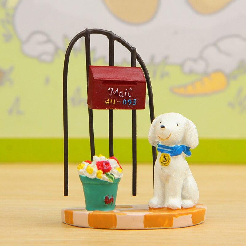 Japanischen Garten Dekoration Miniatur Kleine Tiere Spielzeug Hund Und  Katze Haus Und Garten Zubehör Auto Innen Spielzeug Schreibtisch Ornament In  ...