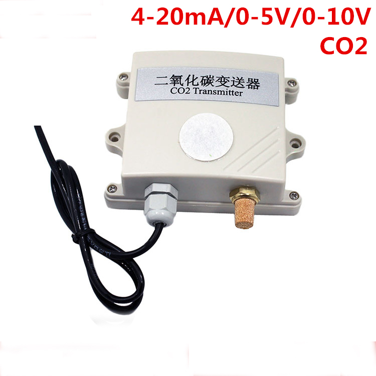Free ship high quality CO2 sensor module 4-20mA /0-10V /0-5V CO2 Transmitter Carbon dioxide detector gas sensor co2 test only
