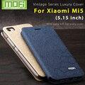 Xiomi xiaomi mi5 mi5 case capa caso funda mi 5 xiomi 5 case silicone macio voltar capa de couro mofi originais
