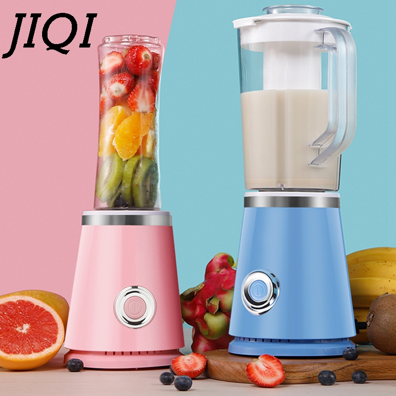 JIQI Electric Juicer Blender Fruit Milkshake Smoothies Mixer Juice Extractor Bottle Soya-bean Maker Soybean Baby Food Processor commercial blender multifunctional food processor silent juice extractor soybean milk machine st 992