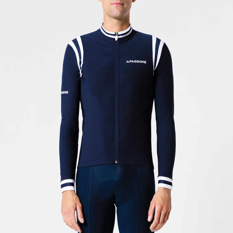 Detail Feedback Questions about 2018 Custom passione long sleeve jersey  Winter thermal fleece Hot wool warm jacket cycling Italy Climbing team  bicycle ... c6e306fc4