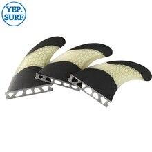 prancha quilhas de Honeycomb Surf Board Fin Future G5/G7 carbon fiber Fibreglass Quilhas barbatanas