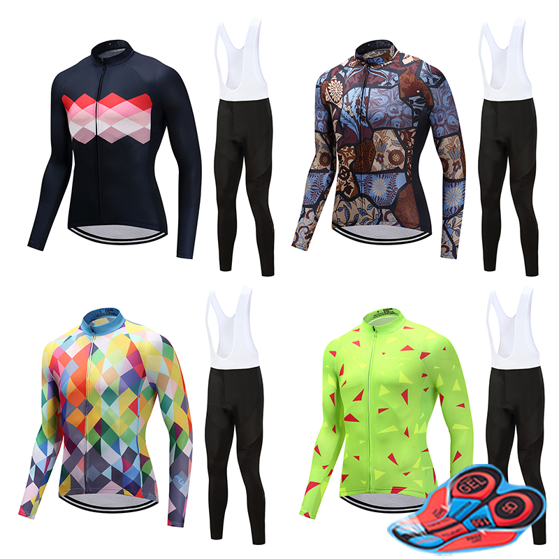 Security & Protection 2019 Cycling Clothing Men Breathable Bicycle Clothes Long Sleeve Mtb Bike Male Triathlon Suit Wear Sport Uniform Outfit Maillot Luxuriant In Design