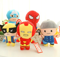 Avengers ittifak demir adam 2 superman thor peluş oyuncaklar Dolmalar & Peluş Hayvanlar oyuncak çocuklar için Hediyeler.