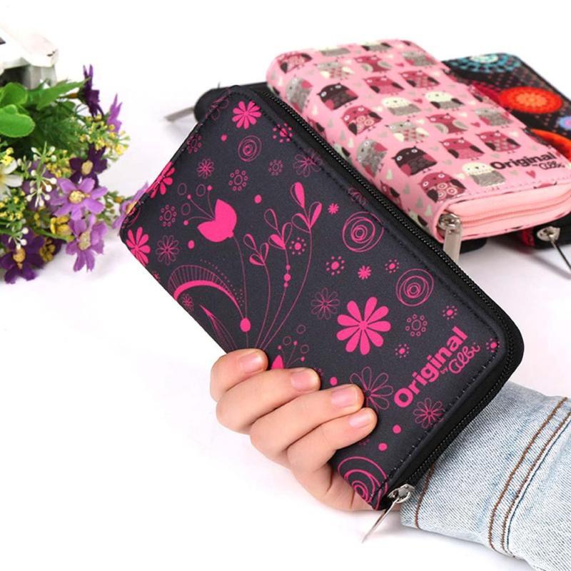 Plånböcker Lovely Printing Women Wallet Ladies Clutch Change Mynt - Plånböcker - Foto 5