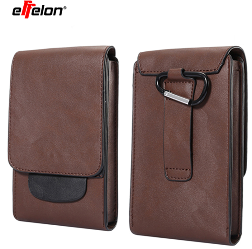 Men Leather Vintage Mobile Phone Cover <font><b>Case</b></font> Hip Belt Bum Purse Phones for <font><b>Samsung</b></font> Galaxy S9 /S9 Plus/ for Iphone 8 7 6 <font><b>6s</b></font> Plus image