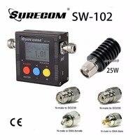 SURECOM SW 102 VU V S W R METER 25W DUMMY LOAD Adaptor