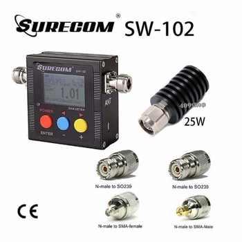 SURECOM SW-102-VU V.S.W.R. METER +25W DUMMY LOAD +adaptor - DISCOUNT ITEM  0% OFF All Category
