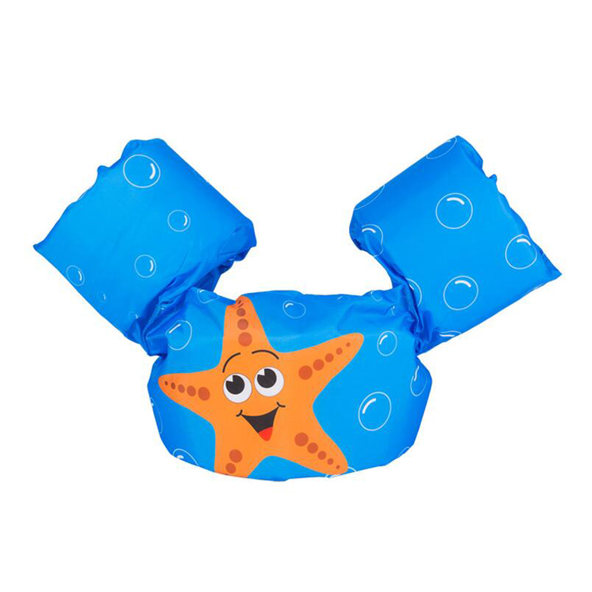 2-6 Years Baby Swim Vest Arm Float Swimming Circle Kid Swim Trainer Child Life Vest Inflatable Donut Swimming Pool Accessories