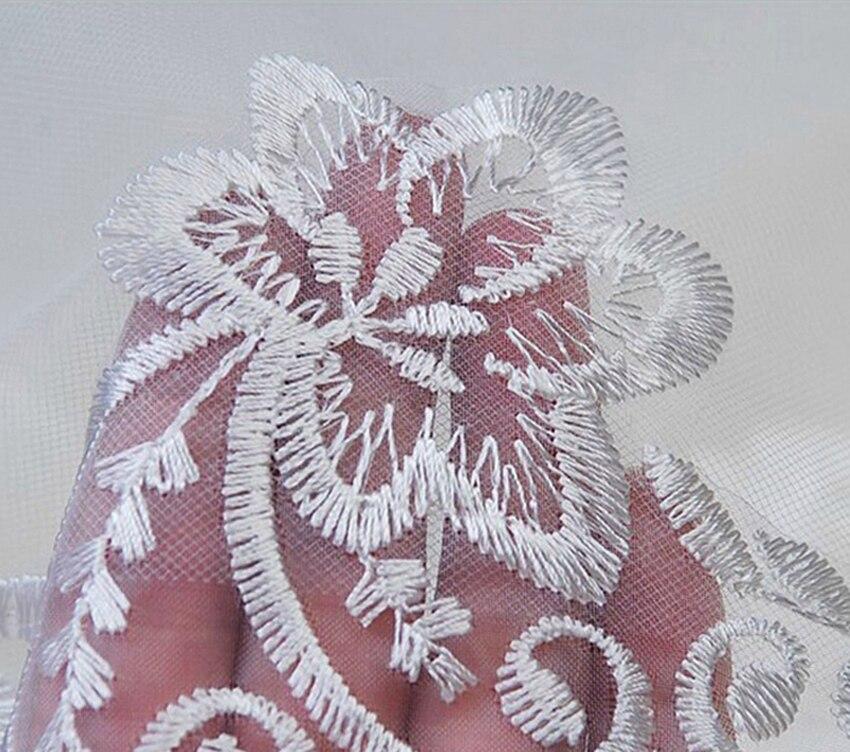 Новое Белое Кружевное длинное свадебное платье свадебная фата Vestido De Noiva Длинная фата для невесты покрывала вуаль на голову