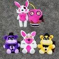 17-37 cm FNAF Juguete de Felpa Foxy Mangle Bonnie Oso de Oro de Cinco Noches En Freddy Pesadilla Fredbear Relleno animales Muñecas Juguetes Para Niños