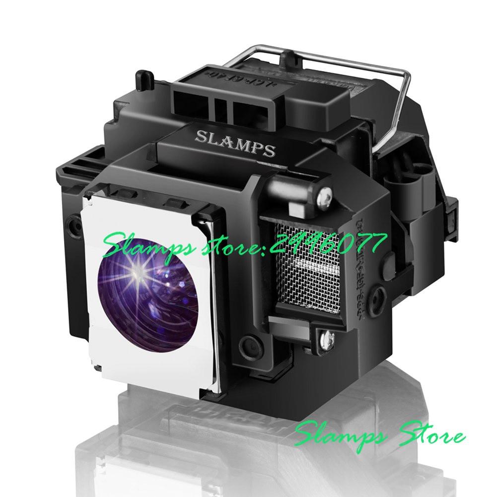Высокое качество ELPL54 V13H010L54 EB-S7 EB-S7 + EB-S72 EB-S8 EB-S82 EB-X7 EB-X72 EB-X8 EB-X8E EB-W7 EB-W8 проектор лампа Epson