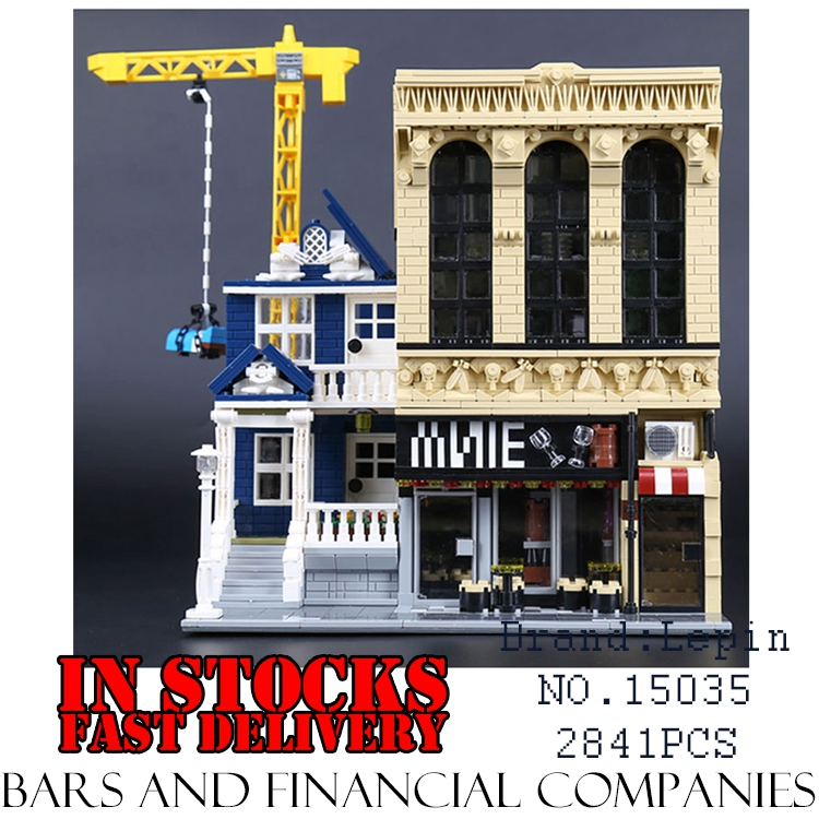 Lepin 15035 2841Pcs Creator Streetsight Series The Bars and Financial Companies Set Building Blocks Bricks Toy for childrenGifts explaining and predicting financial distress using financial ratios
