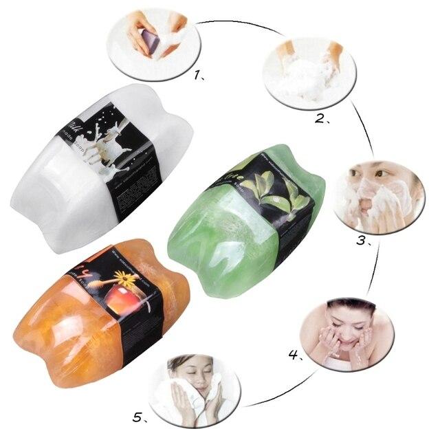 Bar Soap Aroma Multi Scents Herbal Scrub Whitening Remove Black Spots Skin Care 1