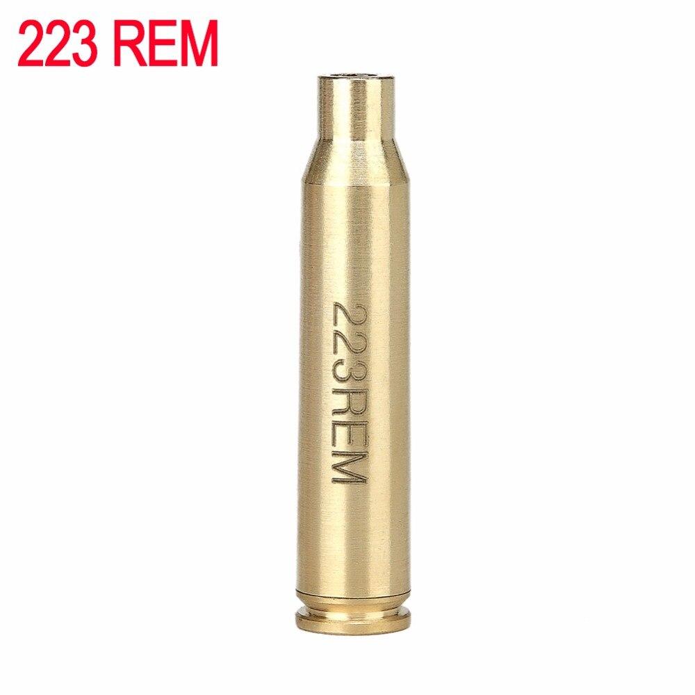 Spike Tactical Bullet 223 REM 5.56 Caliber Cartridge Red Dot Sight Laser Bore Sighter Boresighter for hunting Gun